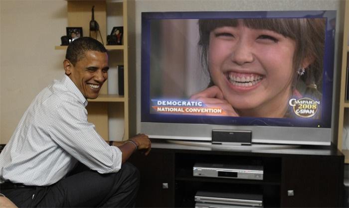 La reacción de Obama,al ver a Hyosung ..??? Secret4-406